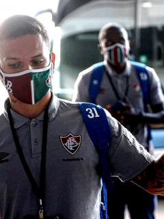 Fluminense podría ir en bus a Armenia para enfrentar a Santa Fe en Libertadores. Imagen del equipo brasileño.