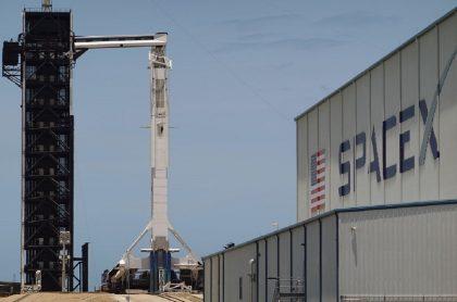 El cohete Falcon9 de SpaceX que habría estado cerca de un ovni en abril del 2021.