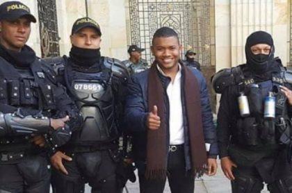 Miguel Polo Polo, quien le pidió al Esmad que aliste sus tanquetas contra los manifestantes del paro nacional