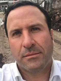 Selfi de Felipe Arias, de RCN, a propósito de su relato de que vio el túnel cuando sufrió infarto y estuvo hospitalizado.