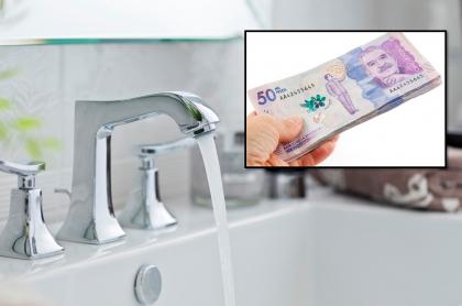 Recibo del agua: podrían devolverles dinero a los colombianos.