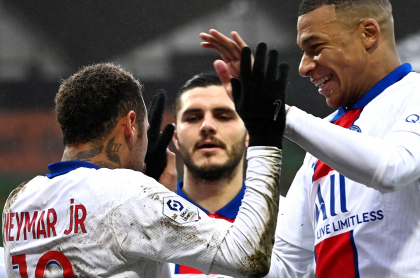 PSG vs Manchester City hoy, Champions: ver en vivo transmisión online e Internet. Imagen de referencia del equipo francés.