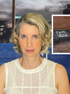 Canal RCN: Claudia Gurisatti rechazó ataque de vándalos durante Paro Nacional