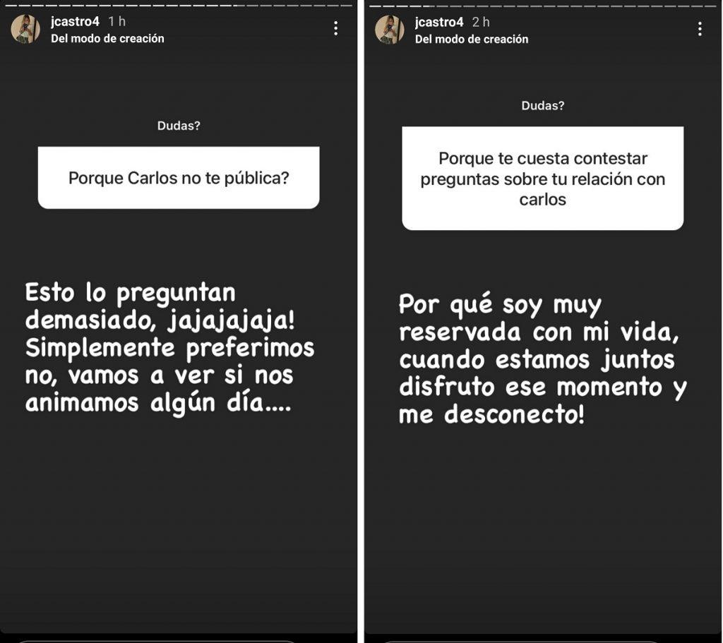 Capturas de pantalla historias Instagram jcastro4.