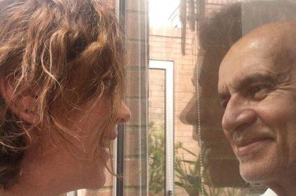 Jairo Camargo y su esposa Patricia Tamayo, luego de que el actor superó la COVID-19.