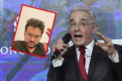 """Inti Asprilla le dice """"degenerado"""" a Álvaro Uribe por propuesta de que militares usen armas para defenderse"""