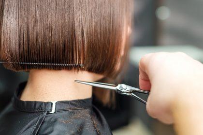 Foto de corte de pelo, a propósito de los días para cortar el cabello en mayo