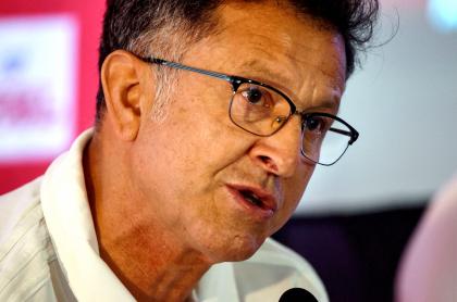 Juan Carlos Osorio avisa que con América quiere ganar la Copa Libertadores. Imagen del entrenador risaraldense.