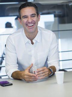 David Vélez, colombiano cofundador de Nubank, que aparece entre las 100 empresas más influenyentes del mundo