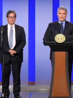 Reforma tributaria: Duque le pidió a Alberto Carrasquilla que la haga de nuevo