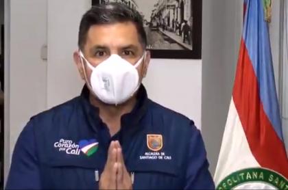 Balacera en Carulla de Cali; alcalde Ospina pide a Duque no provocar más muertos. Imagen del máximo mandatario de los caleños.