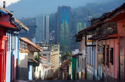 Foto de Bogotá ilustra nota sobre pico y cédula en la ciudad