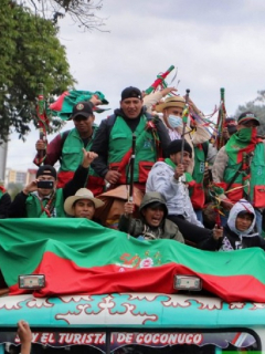 Minga indígena se suma al Paro Nacional: anuncian movilizaciones