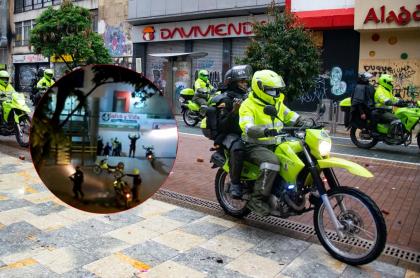 Denuncia de presunto abuso policial en Pereira contra un joven al que le pegaron un patada.