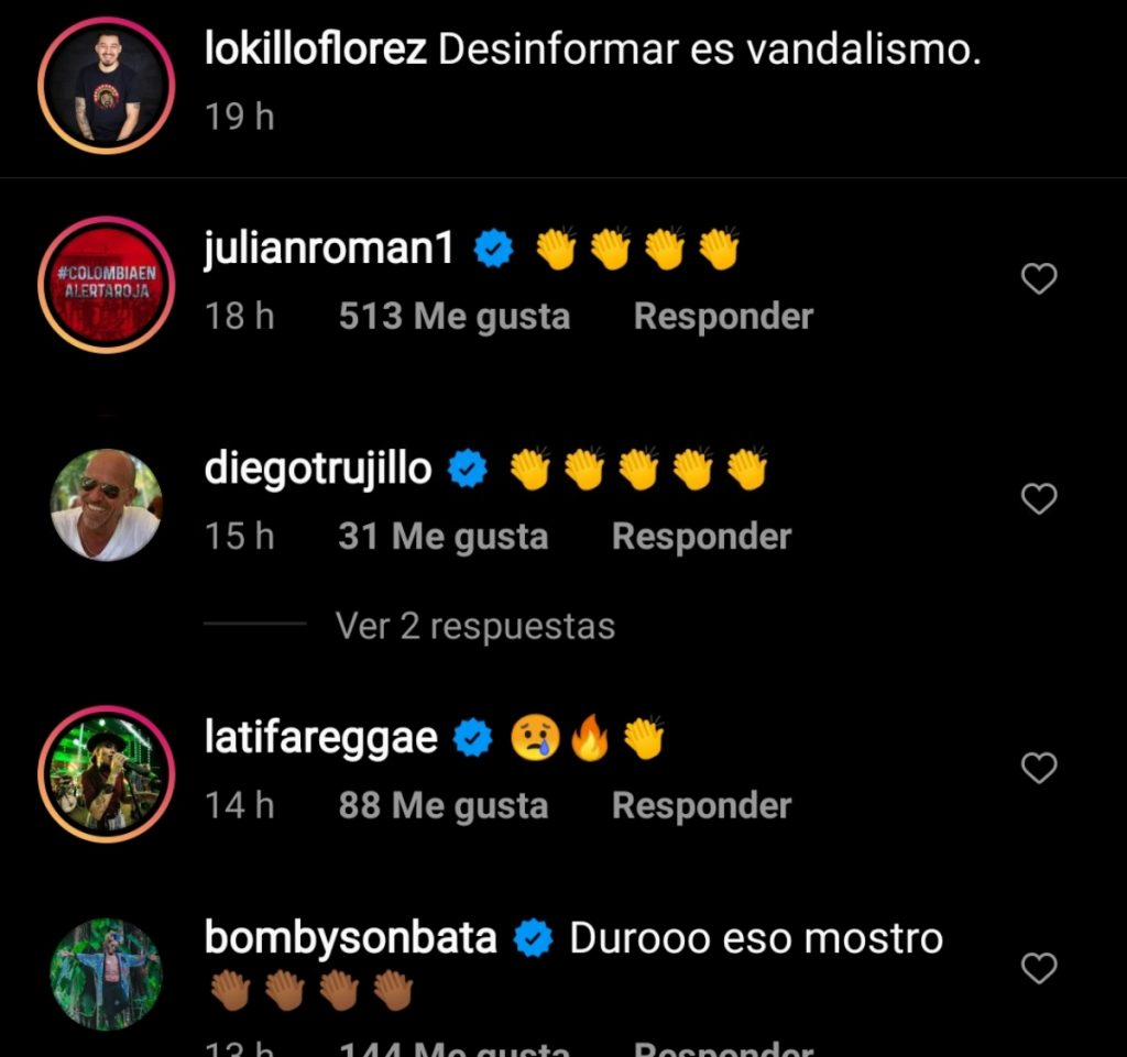 Instagram @lokilloflorez