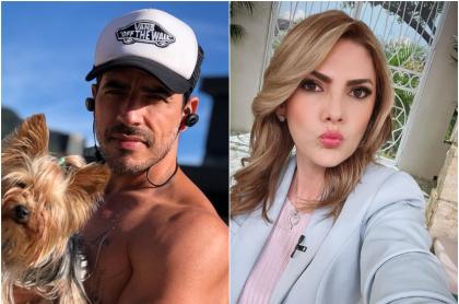 Foto de Pedro Palacio y Ana Karina Soto, a propósito de que él la buscó para volver y ella ya tenía a otro