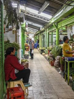 Imagen de plaza que ilustra nota; paro nacional: bloqueo de vías ya causa escasez de alimentos en Bogotá