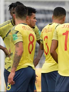 Jeison Murillo, baja por lesión para la Selección Colombia en Eliminatorias. Imagen del combinado 'cafetero'.