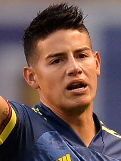 James Rodríguez denuncia amenazas en su contra y de su familia. Imagen del jugador cucuteño.