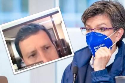 Edgar Ramírez Baquero, profesor de la Universidad del Rosario, también descalificó a la alcaldesa Claudia López durante la clase que expulsó a una estudiante.