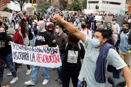 Protestas en Colmbia, donde han desaparecido 87 personas, según reporte de Defensoría del Pueblo