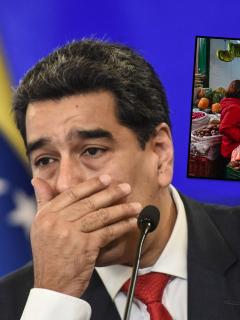 Nicolás Maduro subió el salario mínimo en Venezuela y esto es en pesos colombianos.