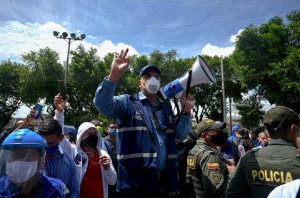 Jorge Iván Ospina, alcalde de Cali que convocó movilización por corredor humanitario