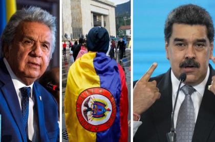 Lenín Moreno acusó a Nicolás Maduro como responsable de violencia en Colombia