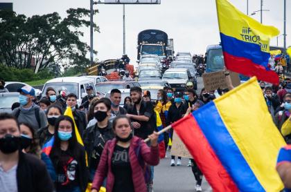 Altas cortes y Rama Judicial piden a Iván Duque incluir a todos en diálogo. (Marchas en Bogotá).
