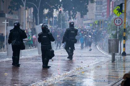The Guardian recibe videos sobre denuncias de protestas en Colombia.