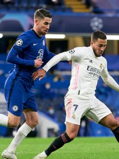 Foto de Chelsea vs. Real Madrid ilustra nota sobre risas de Eden Hazard
