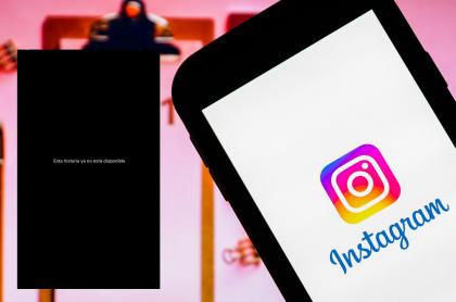 Instagram borra historias sobre el paro nacional.