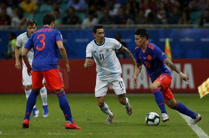 Hora y día del partido Colombia vs. Argentina y Colombia vs. Perú, por Eliminatorias.