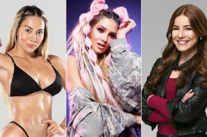 Karol, Mariana Gómez y Juiette Pardau, en 'Desafío', 'La reina del flow' y 'Pa' quererte', a propósito de 'rating' del 5 de mayo de Caracol y RCN.