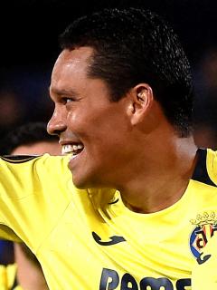 Villarreal-Manchester United, final de Liga de Europa; Carlos Bacca, clasificado. Foto del delantero colombiano.