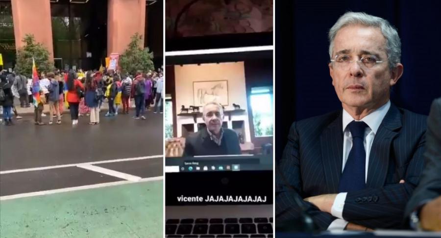 Conferencia de Álvaro Uribe en Universidad de Nueva York fue cancelada