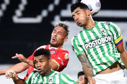 Atlético Nacional cae en Paraguay ante Argentinos Juniors por Copa Libertadores