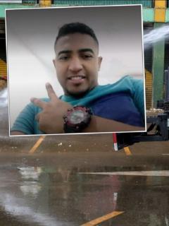 Cristian Barrios, estudiante impactado por chorro de agua del Esmad y que está en UCI en Barranquilla