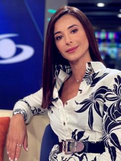 Alejandra Giraldo, en Noticias Caracol, a propósito de que hoy no estuvo en el noticiero y la gente se pregunta qué le pasó, porque dijo tener el corazón roto y haber llorado por Colombia.