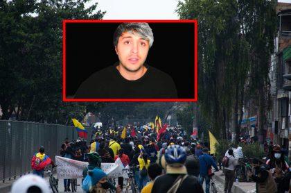 Dalas habla del paro en Colombia y los insultos que recibió.