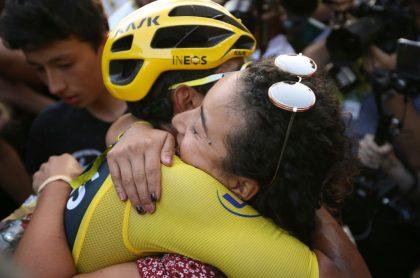 Xiomy Guerrero, expareja de Egan Bernal, mostró en Twitter a su nuevo novio, quien también es ciclista profesional.