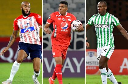 Junior, América y Nacional serían locales en Ecuador o Perú en Copa Libertadores. Fotomontaje: Pulzo.
