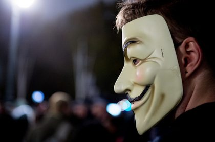 Paro nacional: suspenden cuenta de Twitter de Anonymous en Colombia