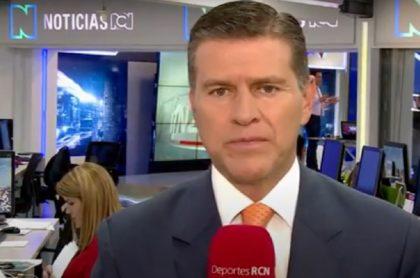 Ricardo Henao invita a marchar contra los hechos de violencia en Colombia.