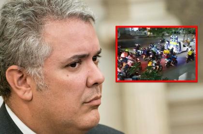 Con guaracha, colombianos piden salida de Duque.