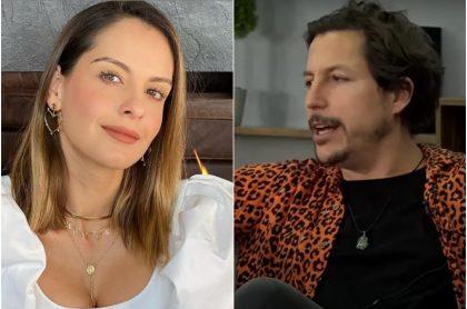 Alejandro Riaño hace bromas sobre RCN en el nuevo programa de Laura Acuña en YouTube.