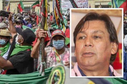 Eduardo Pimentel arremetió en contra de la minga indígenas por desmanes en Cali durante paro nacional.
