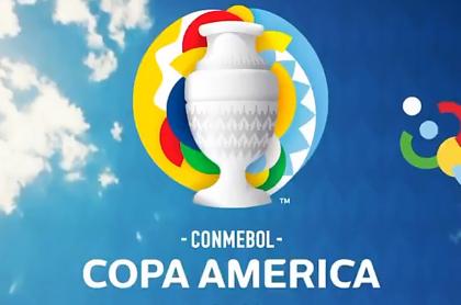 Canción oficial de Copa América confirma que se jugará en Colombia. Logo oficial de la Copa América 2021.