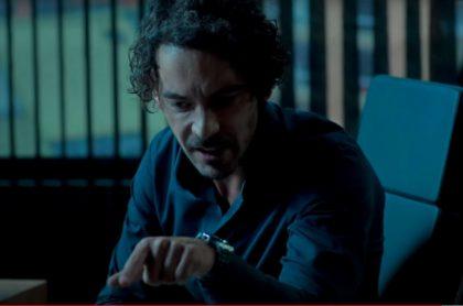 Diego Cadavid en 'Café, con aroma de mujer', a propósito de que ahí también actúa su novia Laura Archbold y hacen de hermanos.