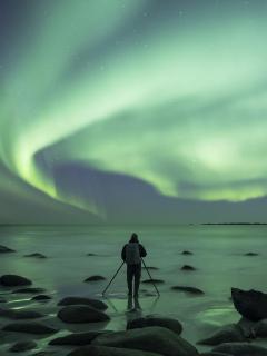 Imagen ilustrativa de un paisaje como los que toma el colombiano Andrés Ardila Larrotta en Suecia.